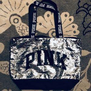 PINK Sequin Tote